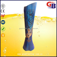 2016 hot selling beautiful tiger brand beer tower