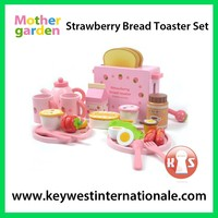 Strawberry Bread Toaster Set