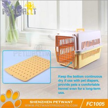 Pet display cage/folding dog crate plastic
