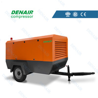 Diesel portable screw air compressor ( ISO & CE)