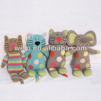 Fashion knit plush toy