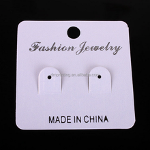 Wholesale custom logo printed earring display card