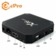 X96 mini Amlogic S905w Android 7.1 X96 Mini 2gb 16gb android tv box smart tv box arabic iptv subscription