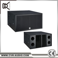 "CVR bass bin 2000 watt + 18"" subwoofer speaker box"