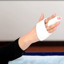 Thermoplastic splinting fracture for finger/Finger brace used materials with CE FDA certificates.