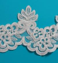 Attractive decorative embroidery sewing lace trim