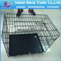 High Quality foldable two door large metal pet cage