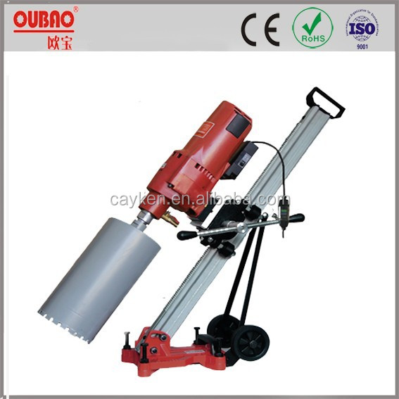 OUBAO manufacturer price angle adjustable stand 300mm Diamond Core Drill OB-305BM