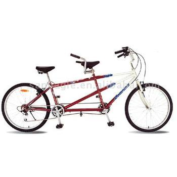 26 inch 6 speed tandem mountain bike