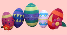 4ft Easter inflatable eggs giant easter egg