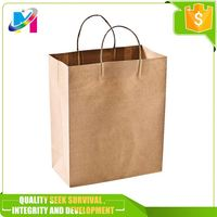 High Quality Fancy Paper Strong colorful cheap paper bag with Your Own Logo