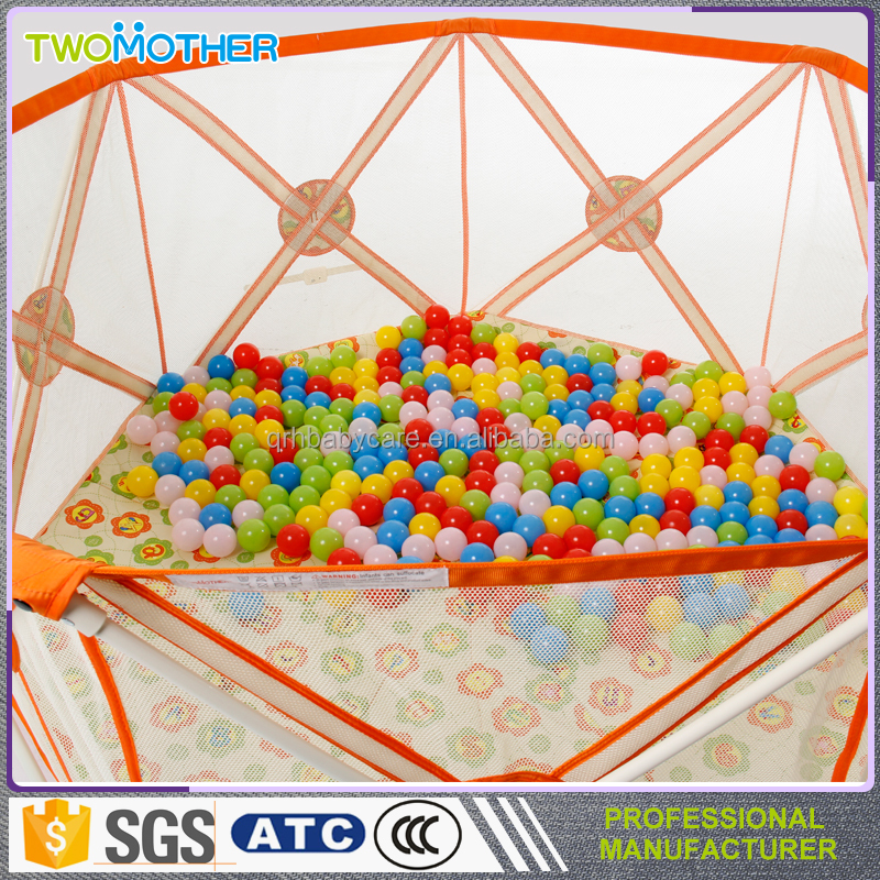 Factory direct 2016 New product high-quality indoor play yard/baby playpen