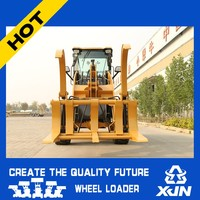 High dump/Grasp grass machine ZL26 Hydraulic joystick control AWD electric wheelloader/front end wheel loader/quick hitch