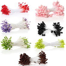 Cheap Wholesale Pearlized Craft Fruit Green Artificial Flower Stamen For Cakes Decoration