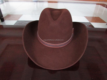 wholesale cheap fashion men felt cowboy hat