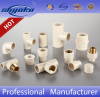 cpvc manufacturer astm d2846 female tee (brass insert) cpvc pipe fitting