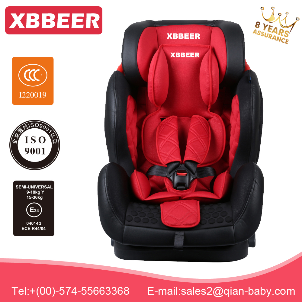 NINGBO XBBEER 5-POINTS Harness Baby Seat Car 9-36kg wholesale ride on battery operated kids baby car