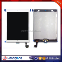 OEM White Digitizer Touch Screen LCD Display Assembly for iPad Air 2