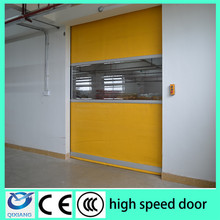 PVC fabric Material and Door Usage rapid roll doors