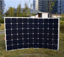 Bendable Sunpower solar panel 50w 100W 120W 150W 180w 200w Semi Flexible Solar Panel