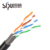 SIPU factory price cat5e outdoor copper material communication cable black color