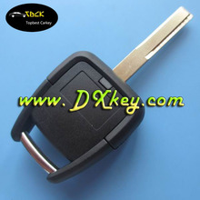 High security plastic key blanks with 2 buttons for opel key cover opel astra key with HU100 blade no logo