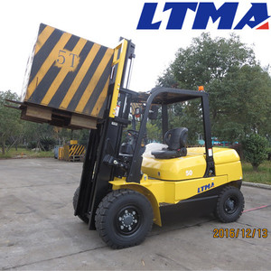 High quality manual hydraulic forklift 5 ton diesel forklift