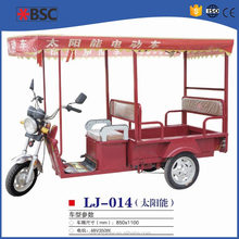 Low power consumption tricycle for handicap