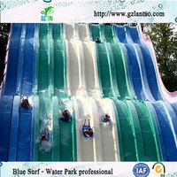 Race slide Fiberglass Water Slide Used Water Park Equipment