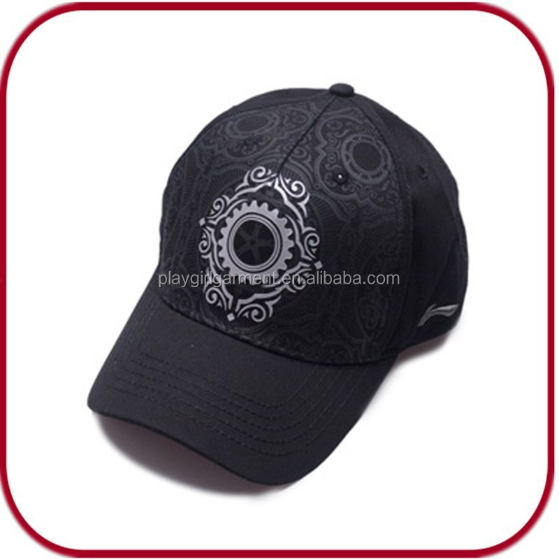 Yiwu factory fancy baseball cap and hat sports cap PGPH-1158