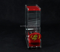 Acrylic canned drinks beer display box, custom can box case
