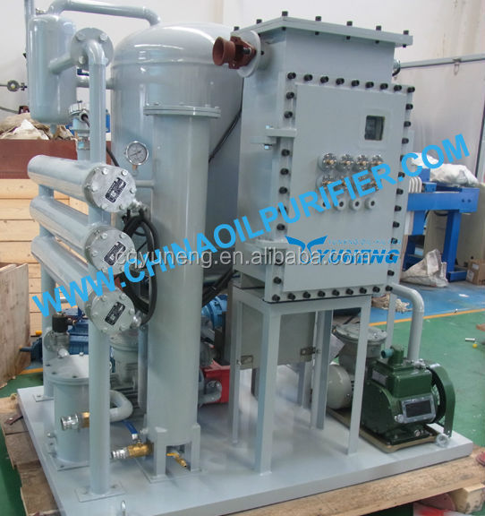 Waste Hydraulic Oil Filter Equipment/Gear Oil Purifier/Industrial Oil Filtration Machine