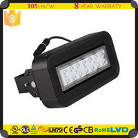 Top quality IP 67 photosensor led solar dusk to dawn flood light