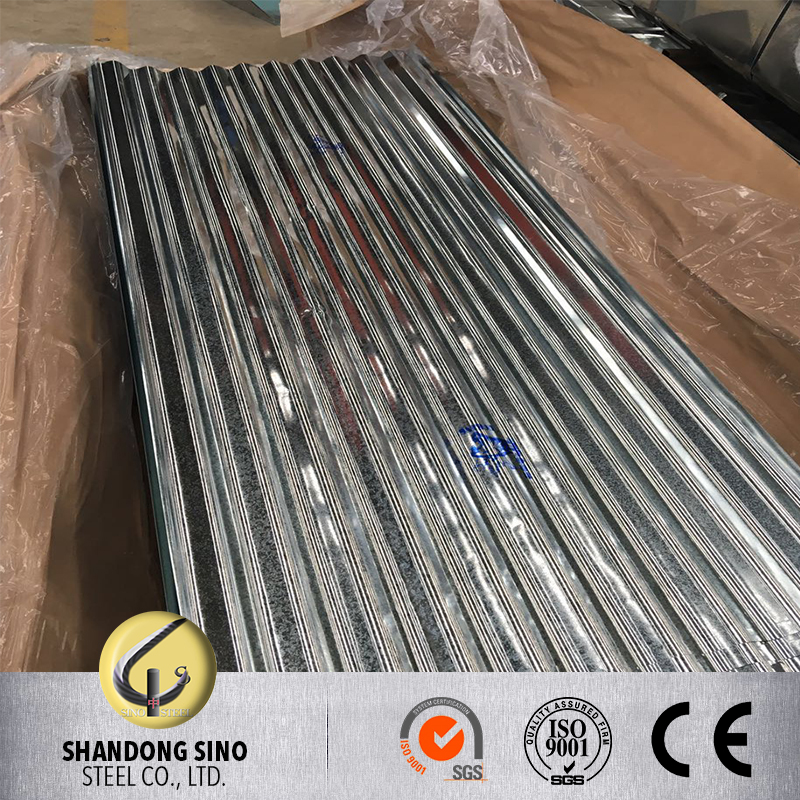 Hot Sale 0.17mm Used Metal Roofing