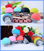 top selling music mini portable wireless mushroom bluetooth speaker Waterproof Silicone Sucker Hands Free Speakers for smartphon