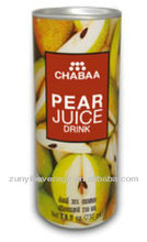245ml Slim Canned Pear JUICE