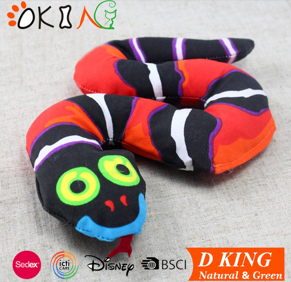 squeaky plush pet toys snake & lovable animal dog toys
