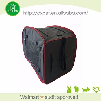 Popular use expandable carry on travel pet carrier tote bag