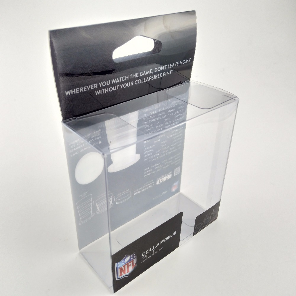 Small Clear Plastic Square Electronics Display Packaging Box
