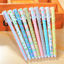 New Arrival ningbo stationery wholesale personalized 10 pcs pen in one box plastic gel pen