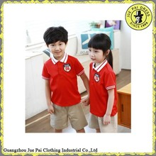 Comfortable cotton school uniform children