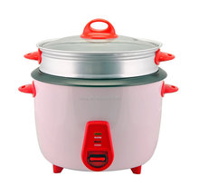 modern Chinese factory electrical multifunctional industrial drum rice cooker with steamer basket