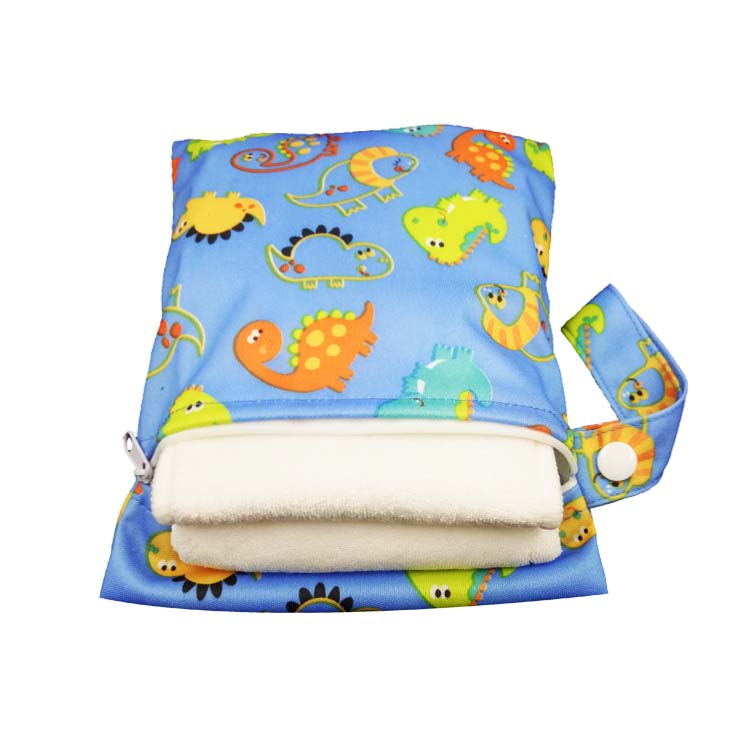 Baby Cloth Diaper Bags Travel Beach Daycare Use Animal Pattern Diaper Bags