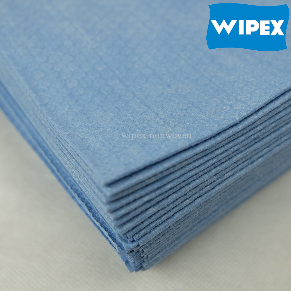 WIPEX industrial wipes suppliers cross lapping industrial nonwoven wiping rags
