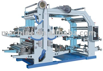 YT4600 four color flexible printing machine