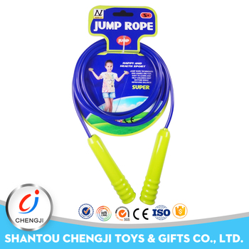 High quality kids flexible jump toys wholesale skipping rope handles