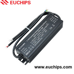 IP67 200-240VAC 75W 3.1A dimmable 1-10v waterproof constant voltage led driver