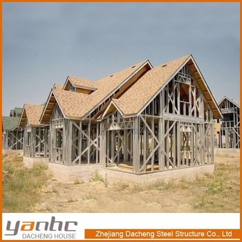 Light Gauge Steel Prefabricated Houses