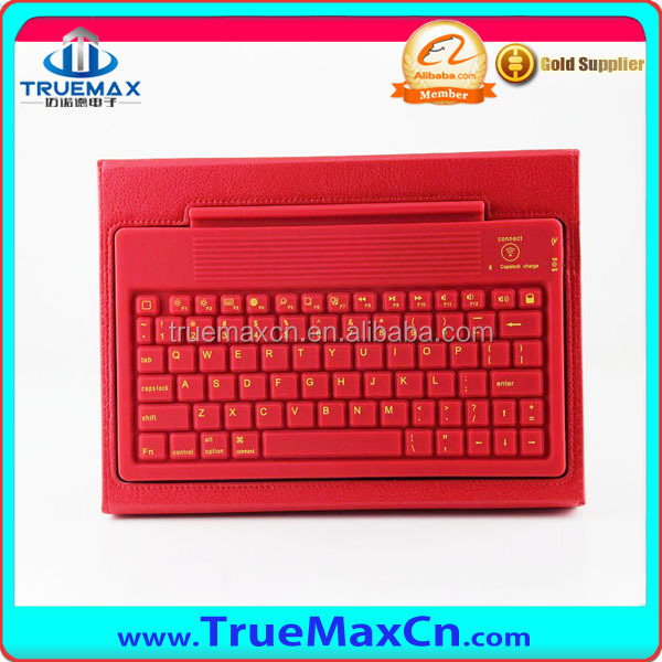For Ipad Air Bluetooth Keyboard Case PU Leather Case for Ipad5