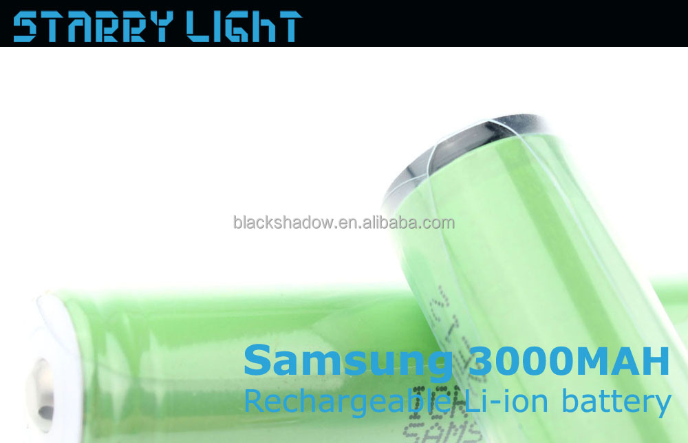 Samsung ICR18650-30B 3000mah rechargeable lithium18650 battery